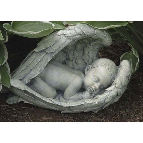 Sleeping Baby in Wings Figure - LI11276