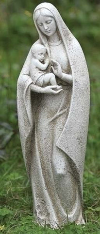 Madonna and Child Garden Figure - LI40035