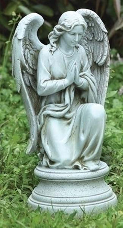 Kneeling Praying Angel Garden Figrue - LI40063