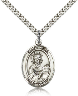 St. Paul the Apostle Medal - FN7086SF24S
