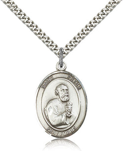 St. Peter the Apostle Medal - FN7090SF24S
