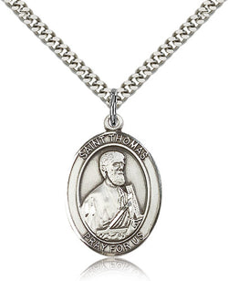 St. Thomas the Apostle Medal - FN7107SF24S