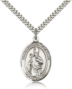 St. Augustine of Hippo Medal - FN7202SF24S