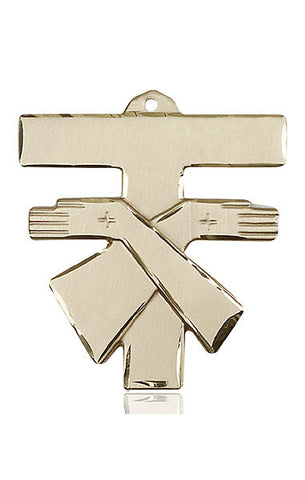 Franciscan Cross Medal - FN6073KT