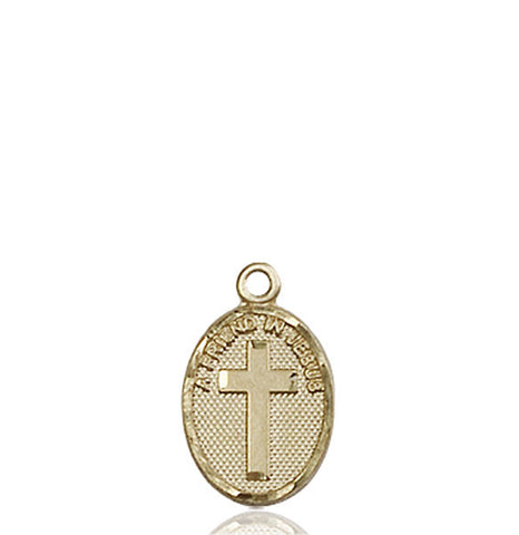 Friend In Jesus Cross Medal - FN0981KT