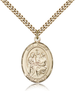 Holy Family Medal - FN7218GF24G