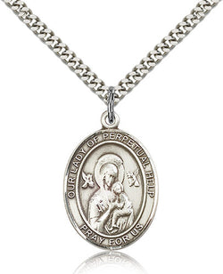 Our Lady of Perpetual Help Medal - FN7222SF24S
