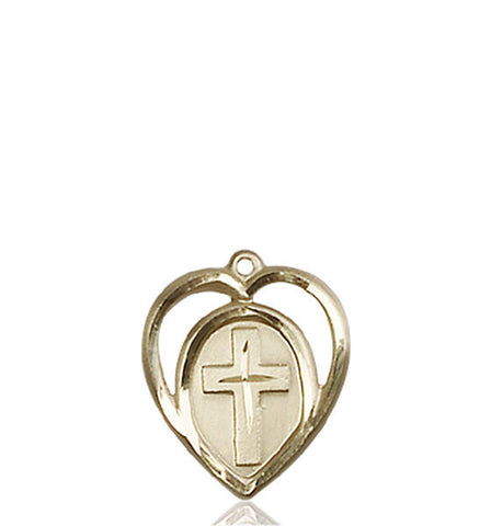 Heart / Cross Medal - FN4132KT
