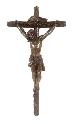 Crucifix in bronze - ZWSR72690