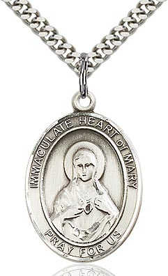 Immaculate Heart of Mary Medal - FN7337SS24S