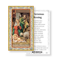 Christmas Blessing Paper Holy Cards 100 pack - TA734804
