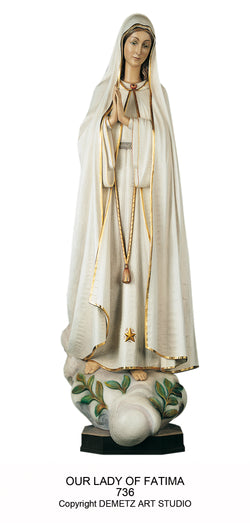 Our Lady of Fatima - HD736