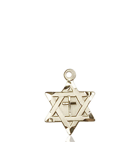 Star of David W/ Cross Medal - FN1211YKT