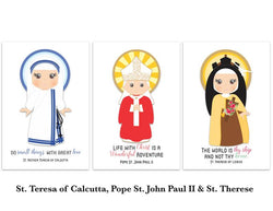 Set of Saint Flash Cards - NE15576