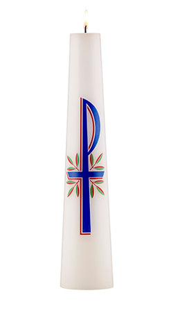 OF75350 - Christ Candle - Chi Rho