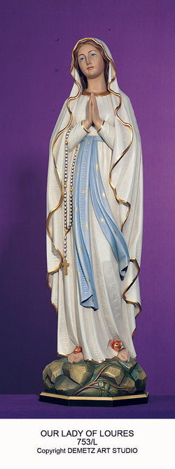 Our Lady of Lourdes - HD753L