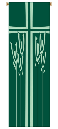 EARS OF CORN BANNER - WN7153