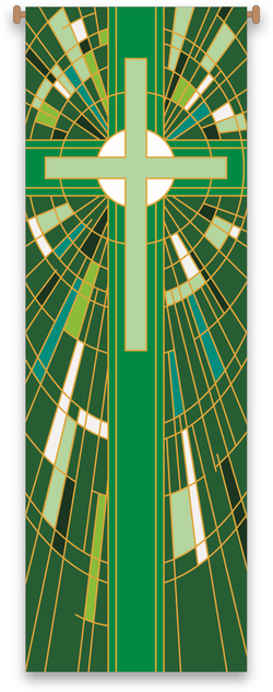 Green Cross Banner - WN7507