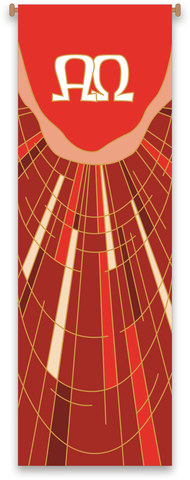 Alpha and Omega Banner - WN7513