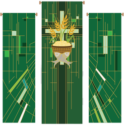 Eucharistic 3 Piece Banner Set - WN766-75169