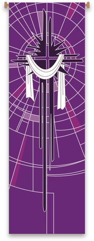 Easter Cross Banner - WN7518