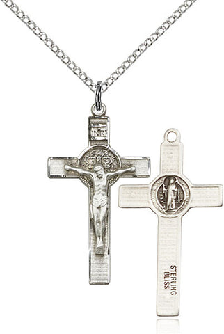 St. Benedict Crucifix Medal - FN0625SF18S