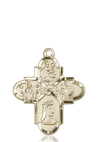 Franciscan 4-Way Medal - FN5701KT