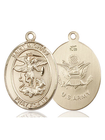 St. Michael the Archangel Medal - FN7076KT2