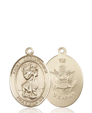 St. Christopher / Army Medal - FN8022KT2
