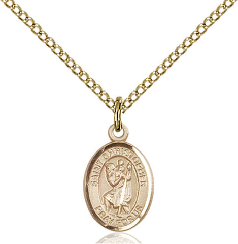 St. Christopher / Army Medal - FN9022GF218GF