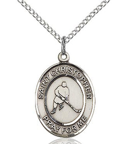 St. Christopher/Ice Hockey Medal - FN8155SF18S