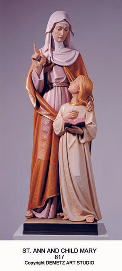 St. Anne with Mary - HD817