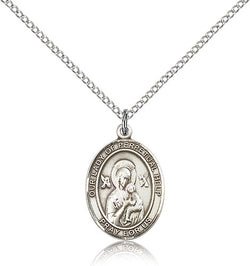 Our Lady of Perpetual Help Medal - FN8222SF18S