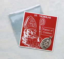 St. Nicholas Prayer Folder - HX83/NIK