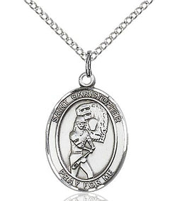 St. Christopher/Softball Medal - FN8507SF18S