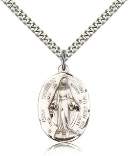Immaculate Conception Medal - FN86-100R100SF18S
