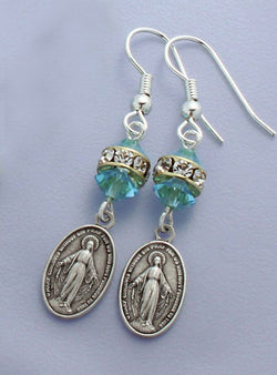 Miraculous Aqua - March Earrings - HX87240/AQ