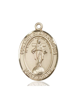 Our Lady of All Nations Medal - FN7242KT