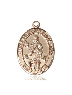 Our Lady Of Assumption Medal - FN7388KT