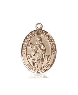 Our Lady Of Assumption Medal - FN8388KT