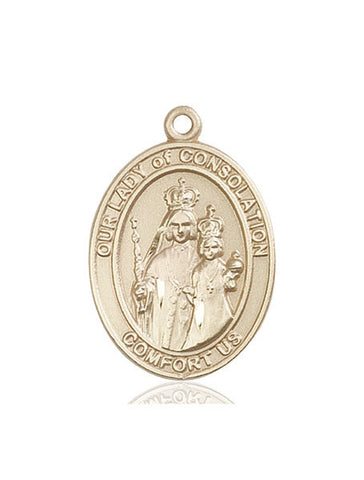 Our Lady of Consolation Medal - FN7292KT
