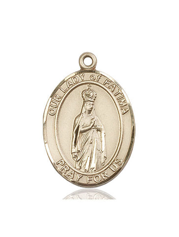 Our Lady of Fatima Medal - FN7205KT