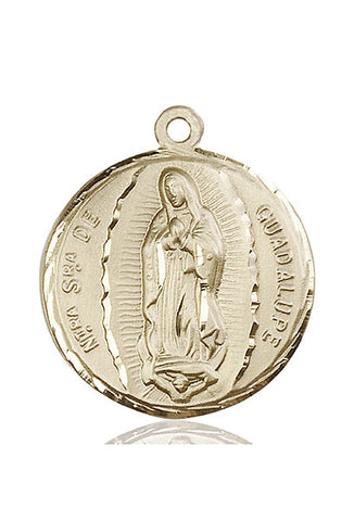 Our Lady of Guadalupe Medal - FN5429KT