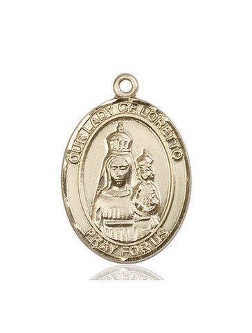 Our Lady of Loretto Medal - FN7082KT