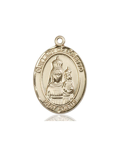 Our Lady of Loretto Medal - FN8082KT