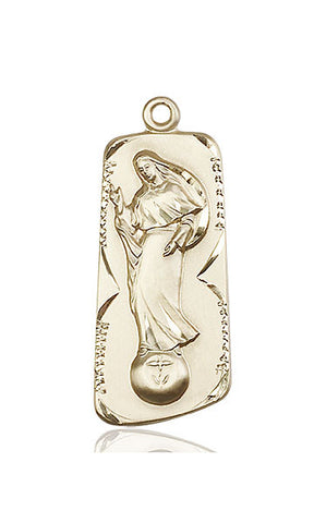 Our Lady of Mental Peace Medal - FN4162KT