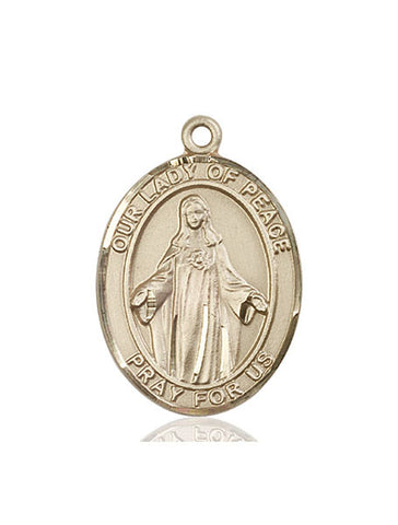 Our Lady of Peace Medal - FN7245KT