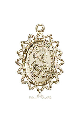 Our Lady of Perpetual Help Medal - FN1619HKT