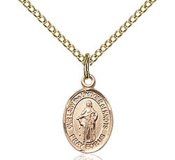Our Lady Of Knots Medal - FN9383GF18GF