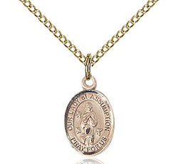 Our Lady Of Assumption Medal - FN9388GF18GF